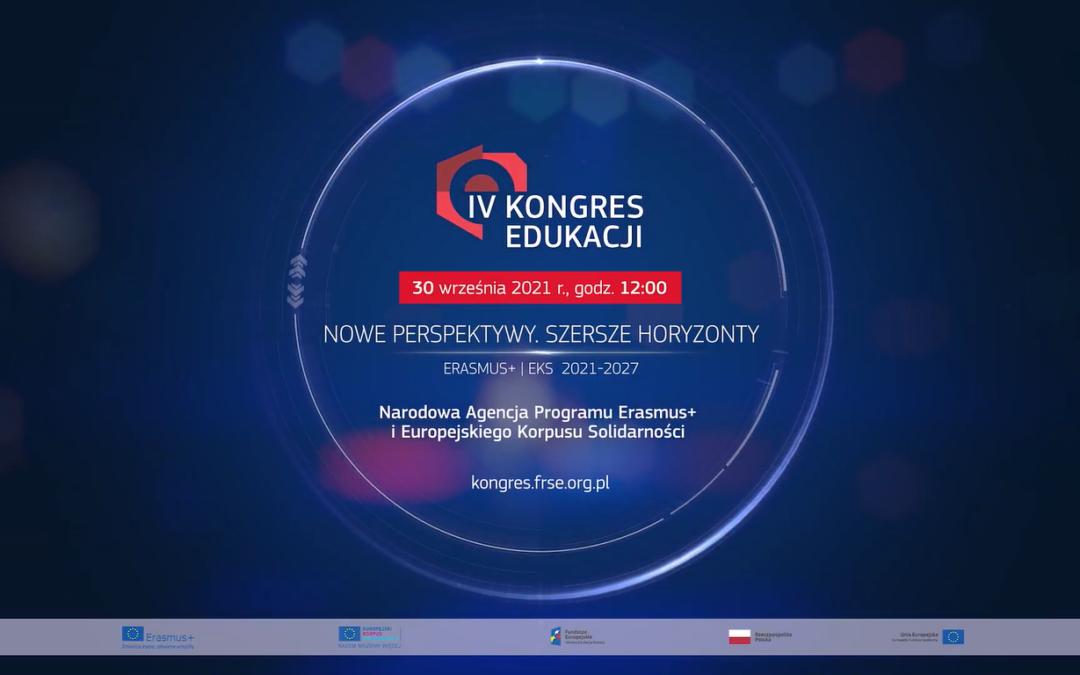 Przedstawiamy oficjalny spot IV Kongresu Edukacji!